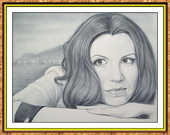 """портрет черно-белый по фото в технике""""сухая кисть""""(море,горы,курорт,манжеты,руки,огни,освещение,пейзаж)"""
