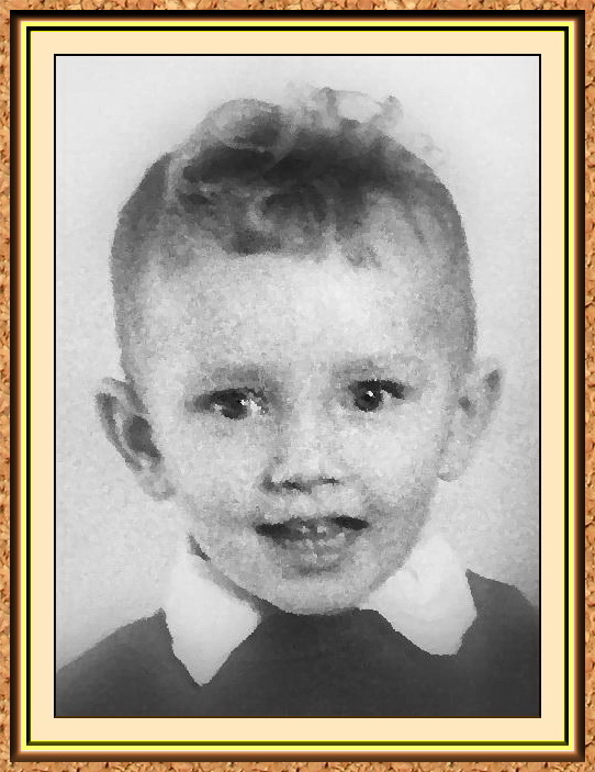 """портрет черно-белый в технике""""сухая кисть"""" по фото(малыш,мальчик)"""